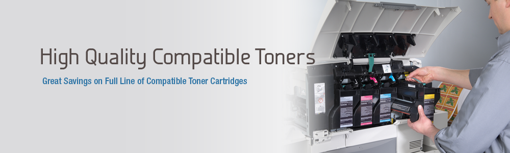 Compatible toners and cartridges